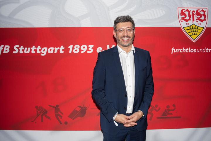 Seit 15. Dezember neuer Präsident des VfB Stuttgart: Claus Vogt.