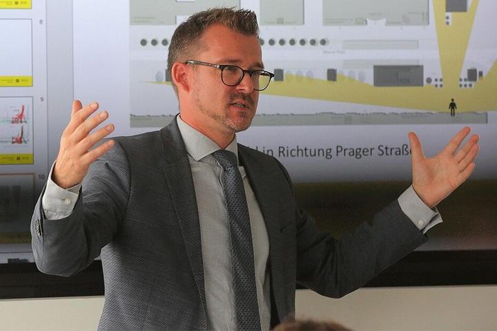 Ein Turm sei nicht zwingend vorgegeben, sagt Baubürgermeister Raoul Schmidt-Lamontain (42, Grüne).