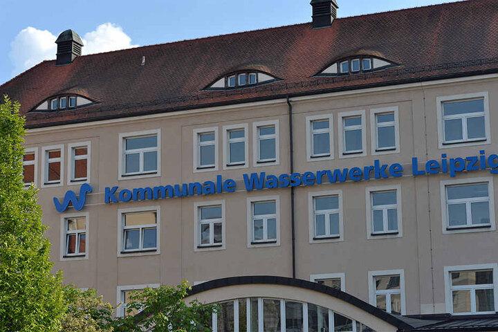 Die Wasserwerke-Zentrale in Leipzig. Unter Ex-Geschäftsführer Klaus Heininger war sie ein Hort der Korruption.