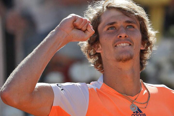 Alexander Zverev ist der erst der sechste Deutsche, der in die Top 10 der Weltrangliste einzieht.
