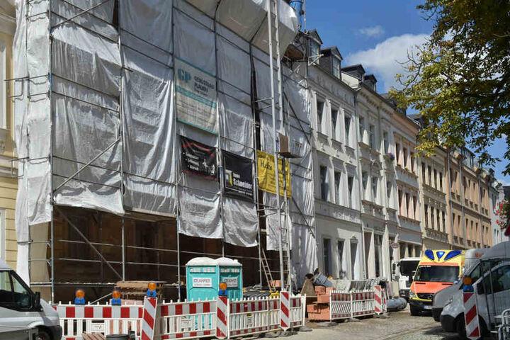 Der Unfall ereignete sich in der Nobelstraße.