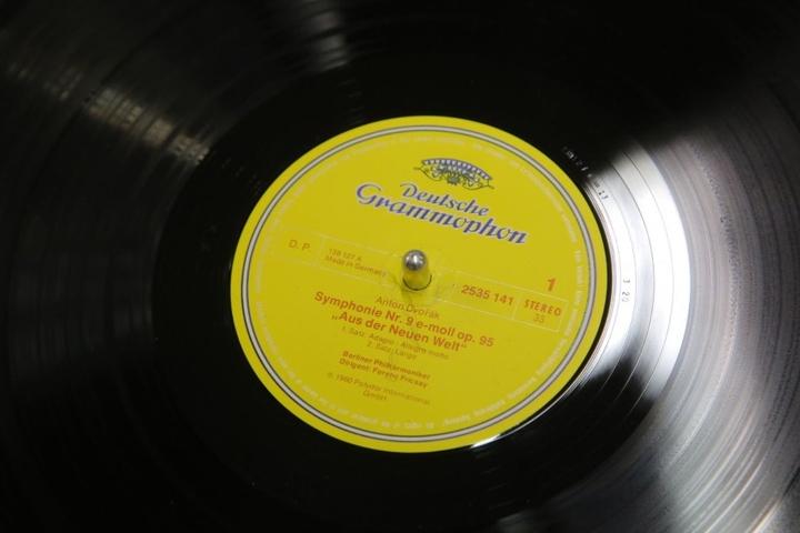 Sogar diese Schallplatte wurde geklaut.