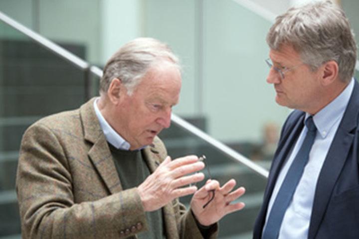 Alexander Gauland (links) und Jörg Meuthen (rechts).
