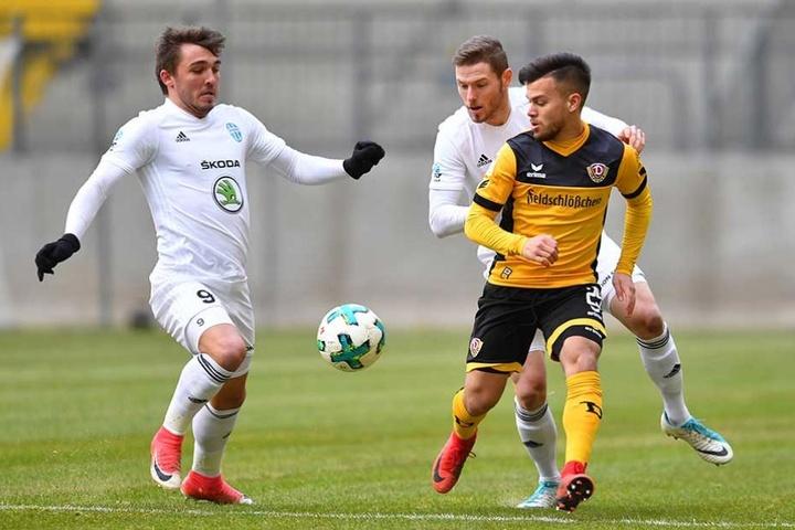 Sascha Horvath (re.) wurde in die U21 von Österreich berufen.