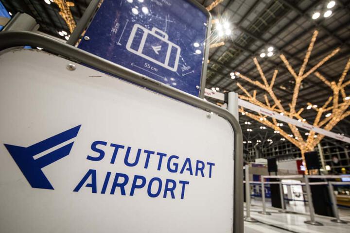 In Stuttgart sind wegen des Streiks zwei Ankünfte und zwei Abflüge gestrichen worden. (Symbolbild)