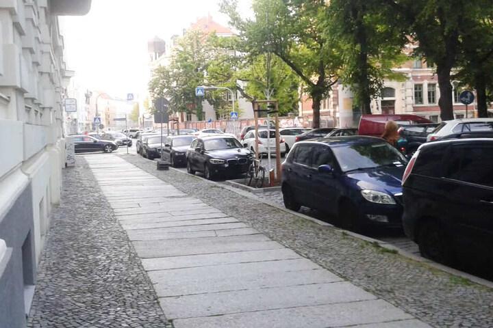 In der Kochstraße gilt für den Zeitraum der Dreharbeiten Parkverbot.