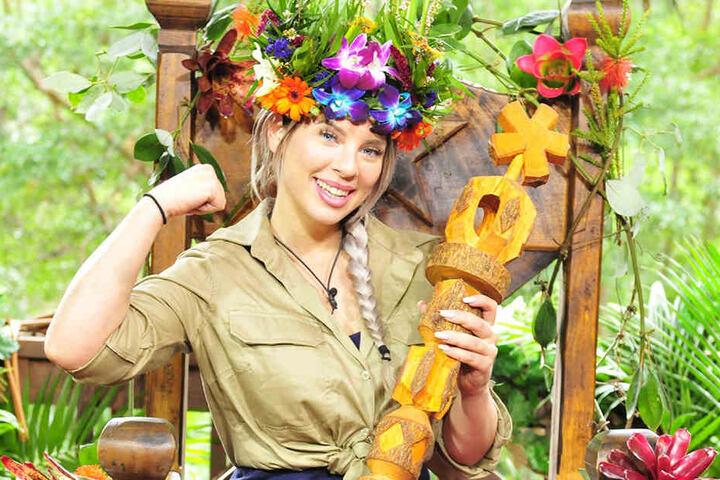 Am Sonntag wurde Jenny Frankhauser (25) zur Dschungelkönigin gekürt.