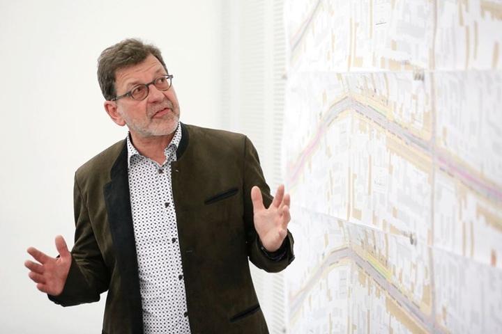 Straßenbauamts-Chef Reinhard Koettnitz (62).
