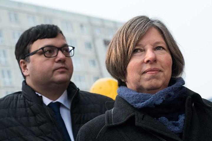 Berlins Stadtentwicklungssenatorin Katrin Lompscher (55, Die Linke).