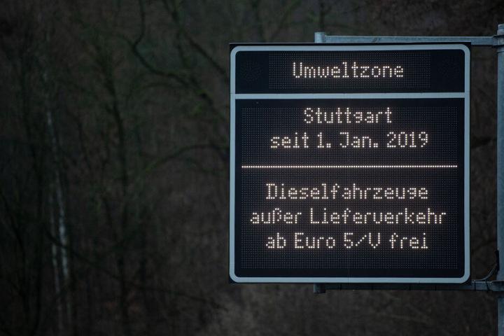 Ab Euro 5: Diesel bleiben in Stuttgart draußen.