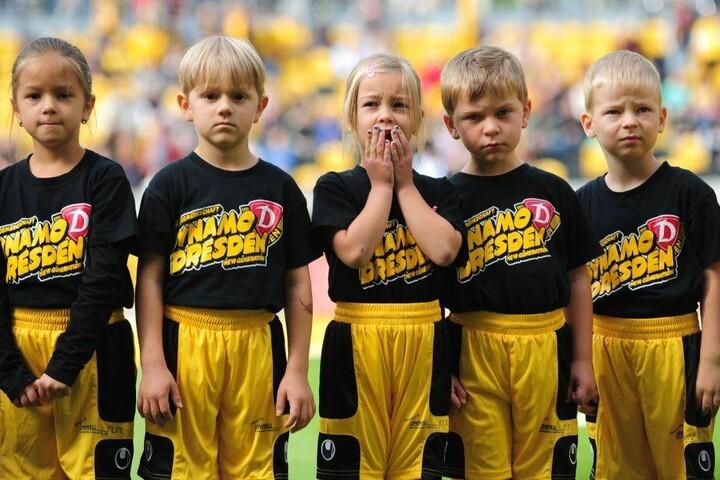 Einlaufkinder Fußball Bewerben