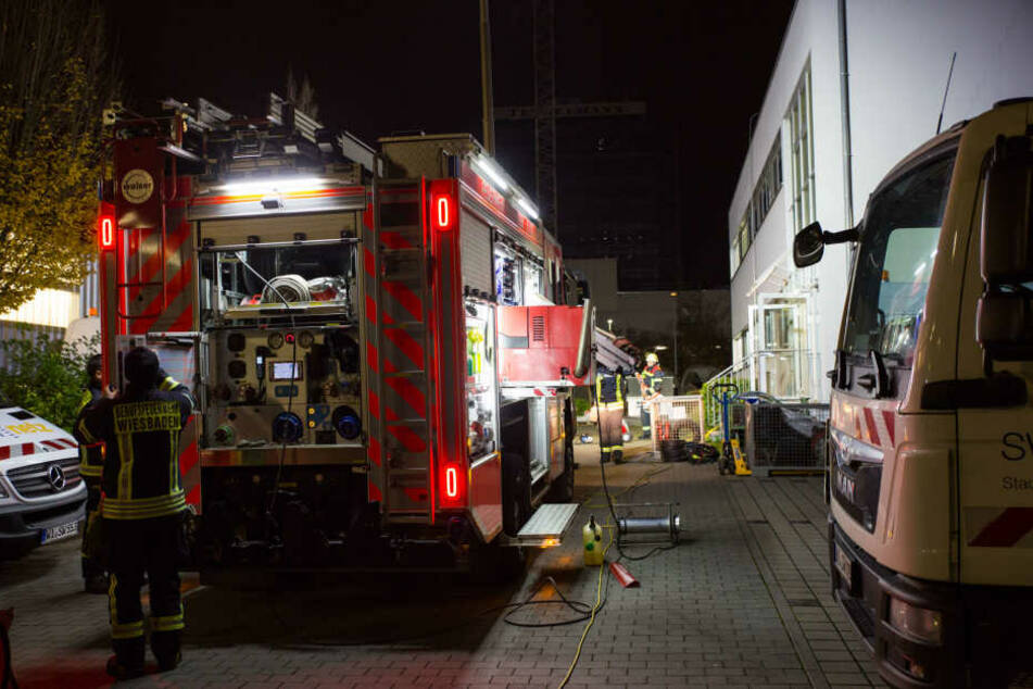 Die Feuerwehr in Wiesbaden hatte erneut mit einem Stromausfall zu kämpfen.