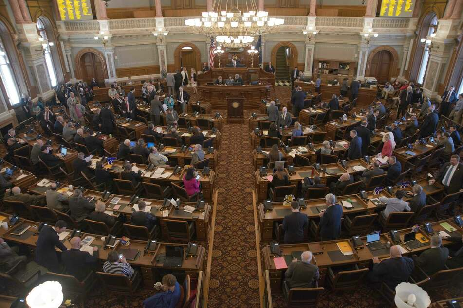 The Kansas Statehouse went on without Suellentrop on Thursday.