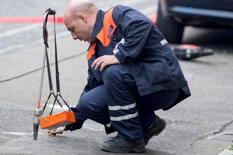 Durch eine Havarie an einer Bausstelle war es in Zwickau zu Gasgeruch gekommen.