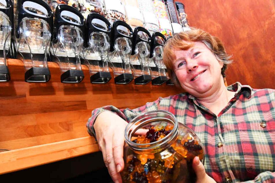 Alexandra Feege freut sich auf die Eröffnung ihres verpackungsfreien Ladens am Samstag.