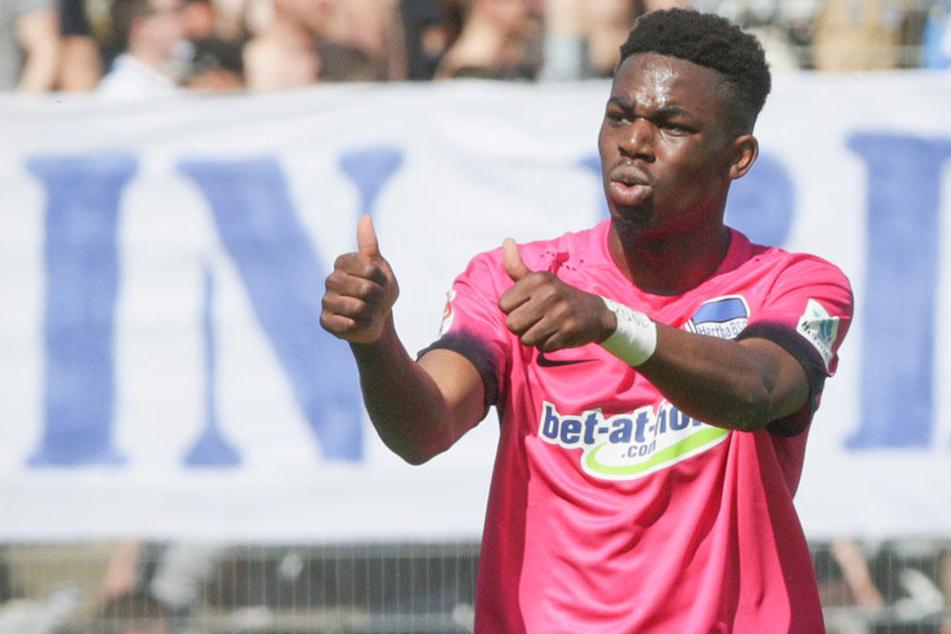Eintracht Frankfurt soll an Herthas Jordan Torunarigha interessiert sein.