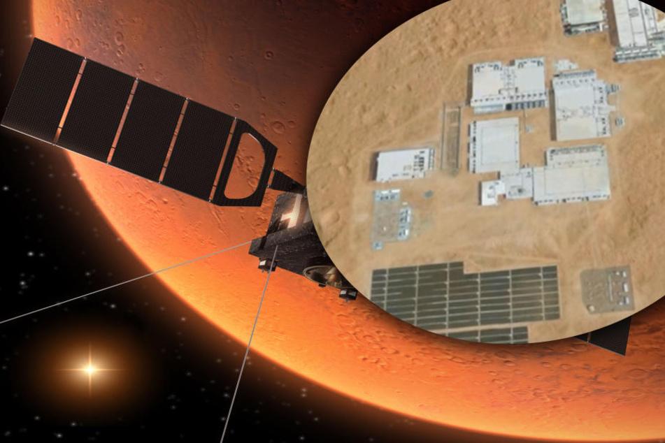 Geheim-Basis auf dem Mars? Was steckt hinter diesen Aufnahmen?