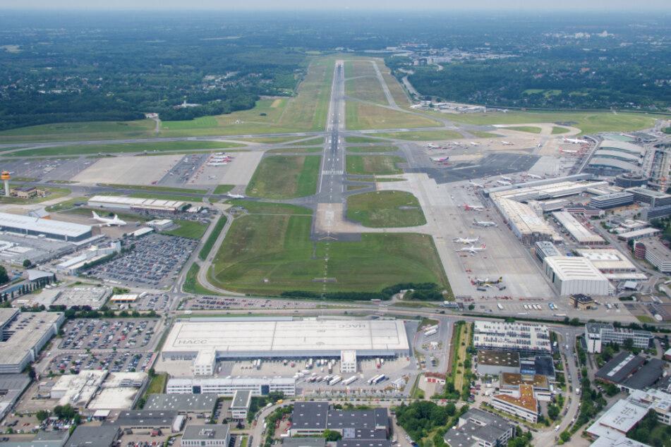 Der Flughafen Hamburg kann ausgebaut werden. (Archivbild)