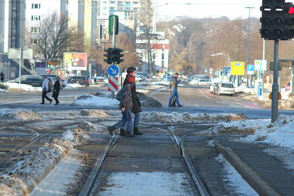 Die Bahngleise enden an der Brückenstraße, sollen dereinst die Innenstadt umschließen. Daraus wird vorerst nichts.