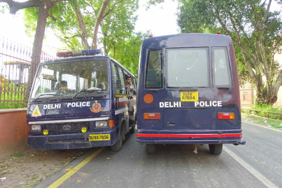 Die indische Polizei konnte den verdächtigen Mann festnehmen.