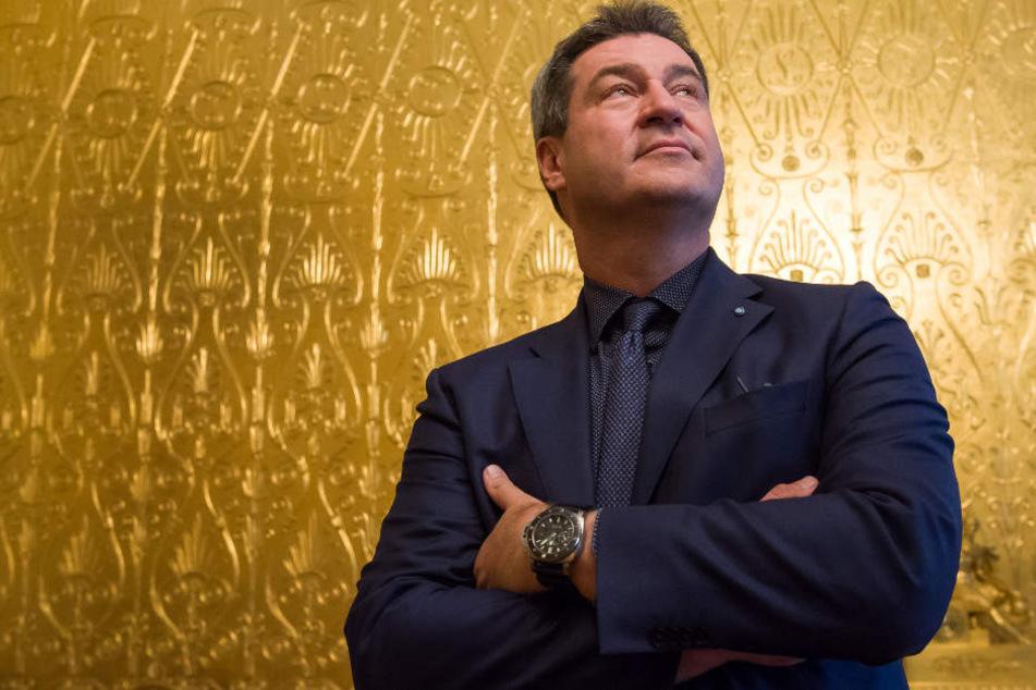 Markus Söder (CSU) droht bei der Landtagswahl 2018 ein Debakel.