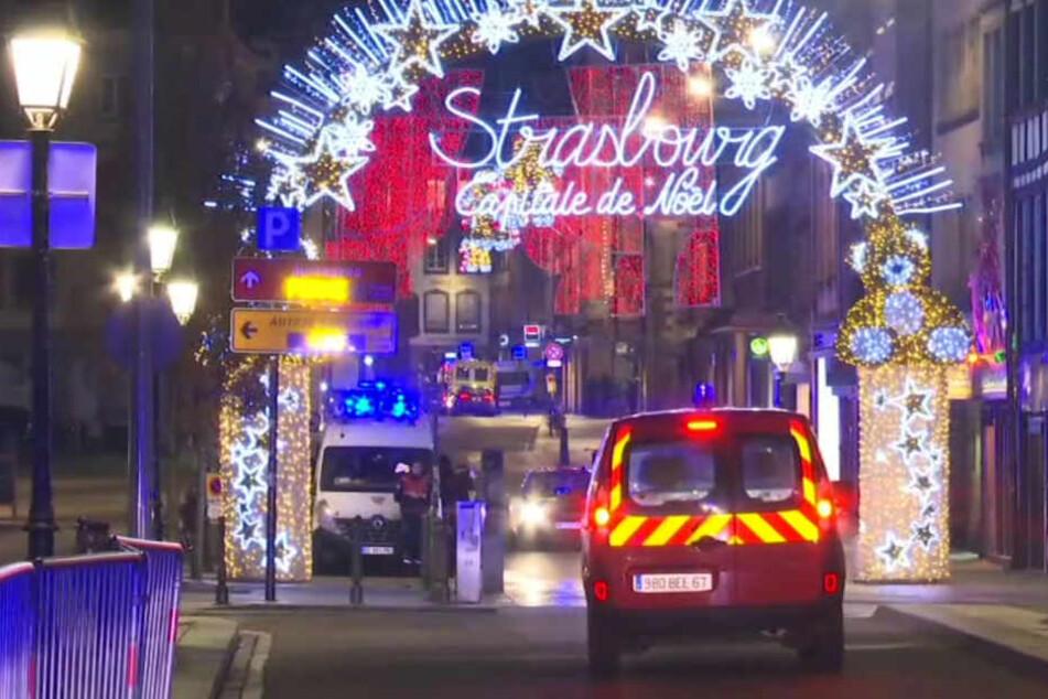 Mindestens drei Menschen kamen bei dem Terroranschlag von Straßburg ums Leben.