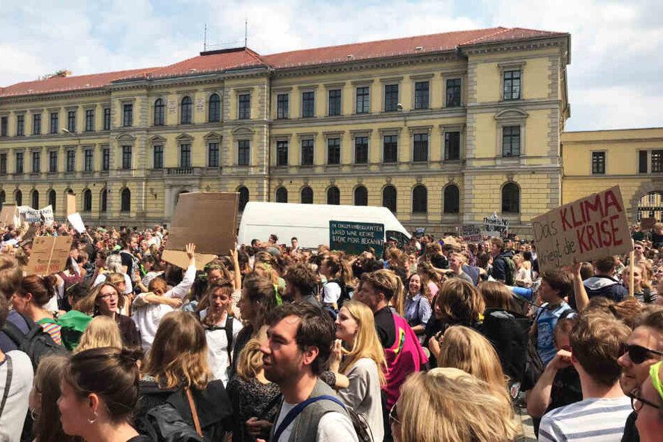 Seit Wochen protestieren Aktivisten an Freitagen für den Klimaschutz.
