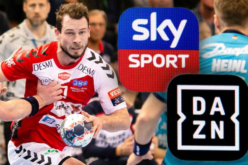 Sky oder DAZN: Wer sichert sich den Handball-Europapokal?