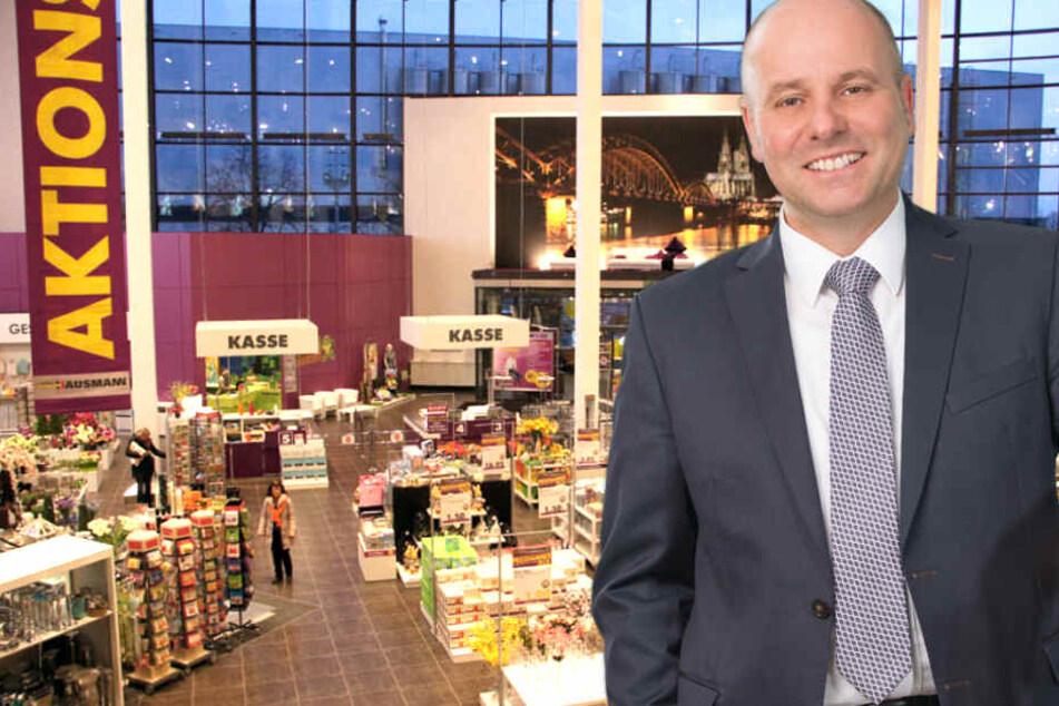 Geschäftsleiter Thomas Mundorf freut sich schon auf Euch!