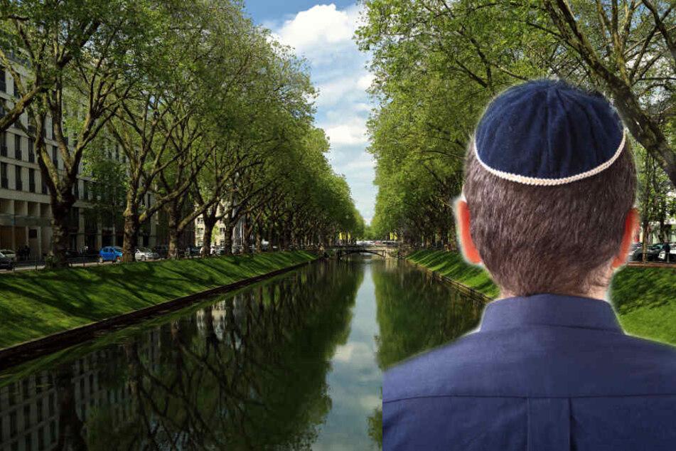Aufgrund der Darstellung des jungen Mannes gehen die Ermittler von einer antisemitischen Straftat aus. (Symbolbild)