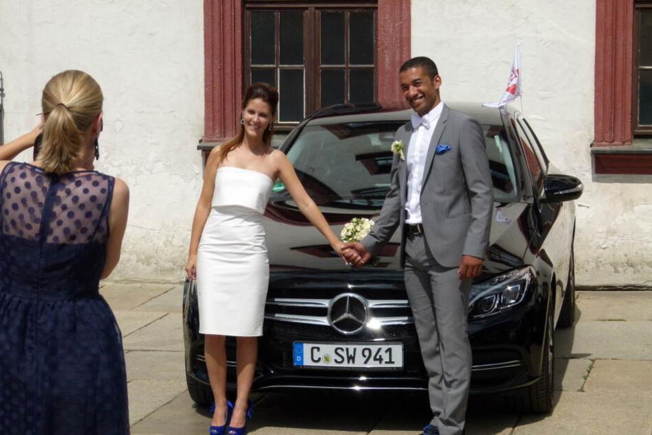 Robin Szolkowy heiratete seine Romy im August 2014 in Chemnitz.