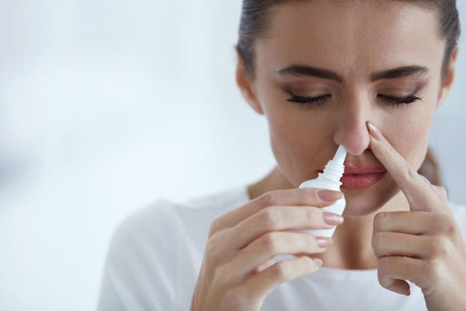 Die Autovaccine können durch ein Nasenspray verabreicht werden. (Symbolbild)