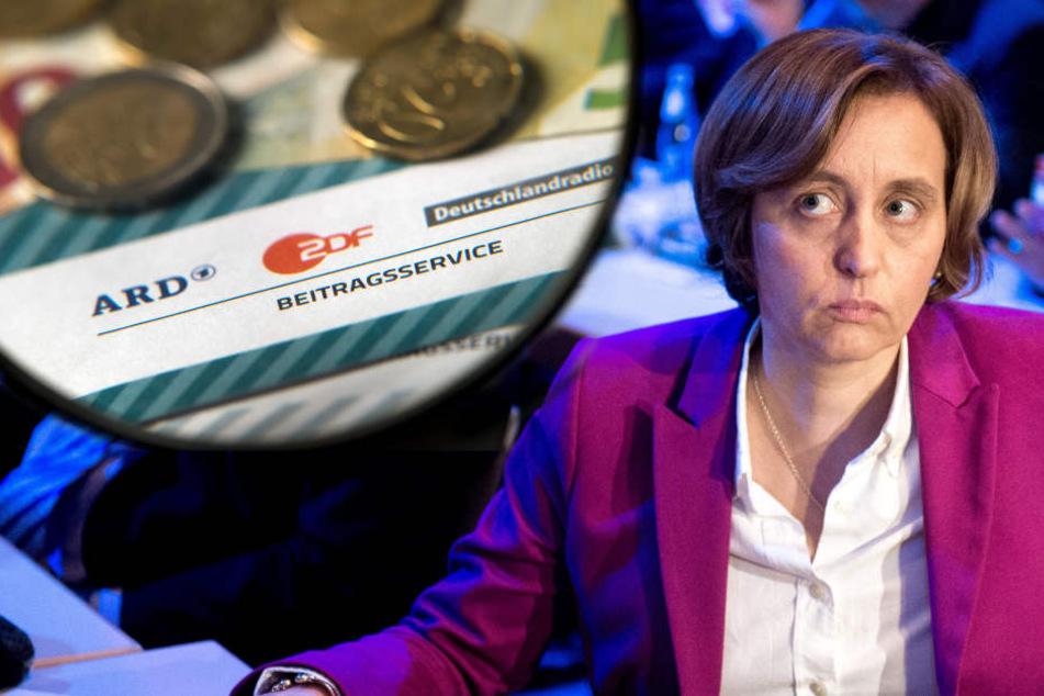 Beatrix von Stroch (AfD) hält die Rundfunkgebühren für undemokratisch und überholt.