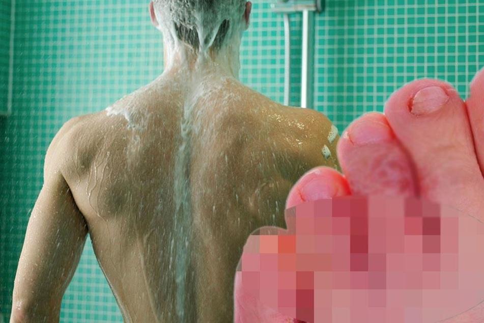 Nach Duschen in Fitnessstudio - Mann kann vor Schmerzen nicht mehr laufen