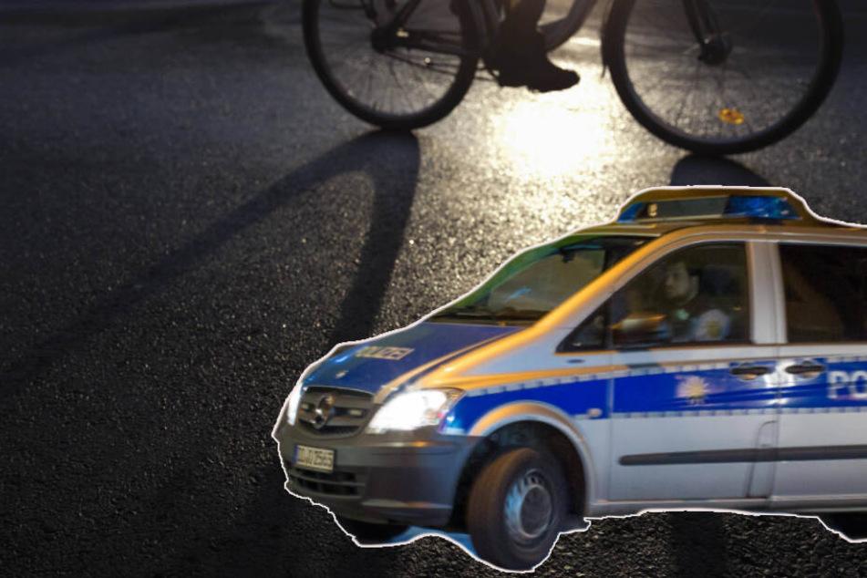 Regenrinnen, Bretter, Rohre: Dieb radelt schwer bepackt in Hände der Polizei