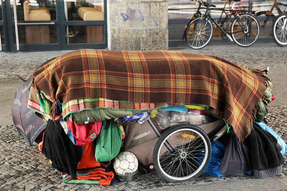 Viele Betroffenen sehen keinen anderen Ausweg als auf der Straße zu leben.