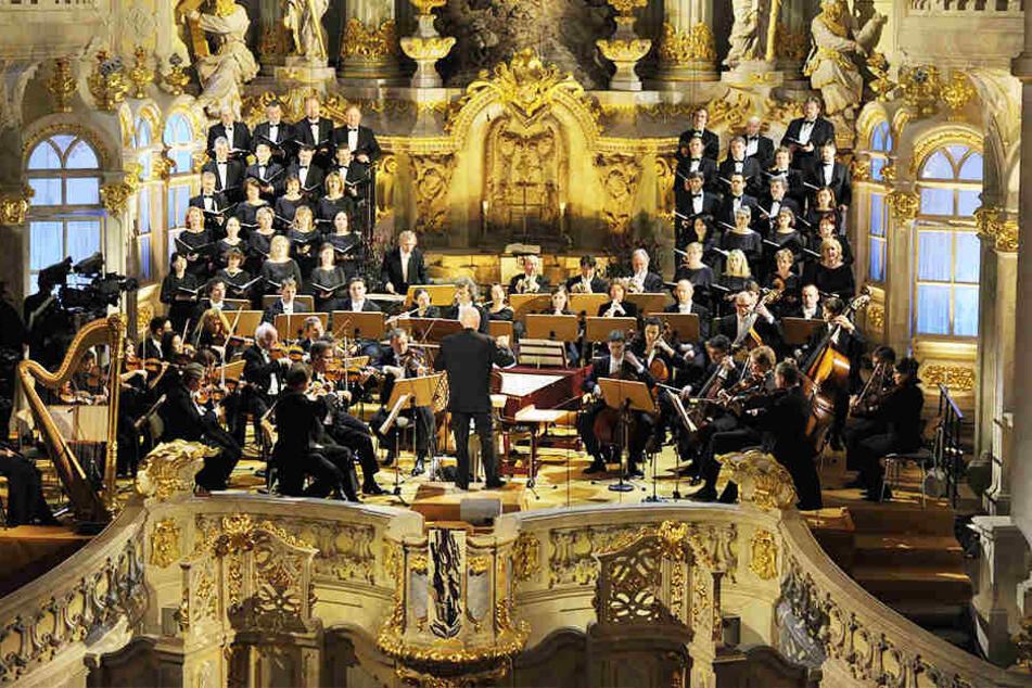In der Frauenkirche erwartet Euch virtuose Blechbläsermusik aus vier Jahrhunderten.