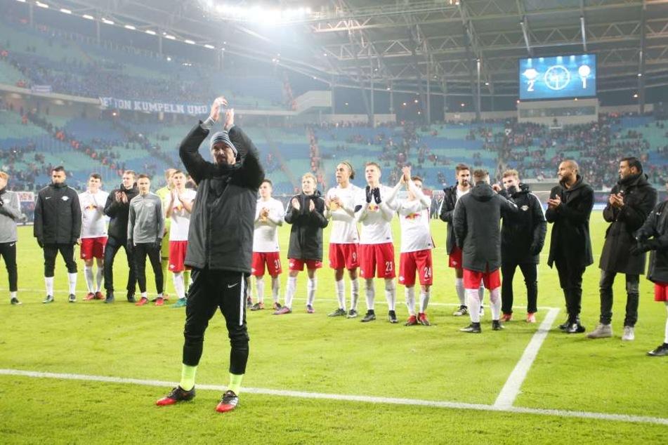 RB Leipzig besiegte am Sonnabend Schalke 04 mit 2:1.