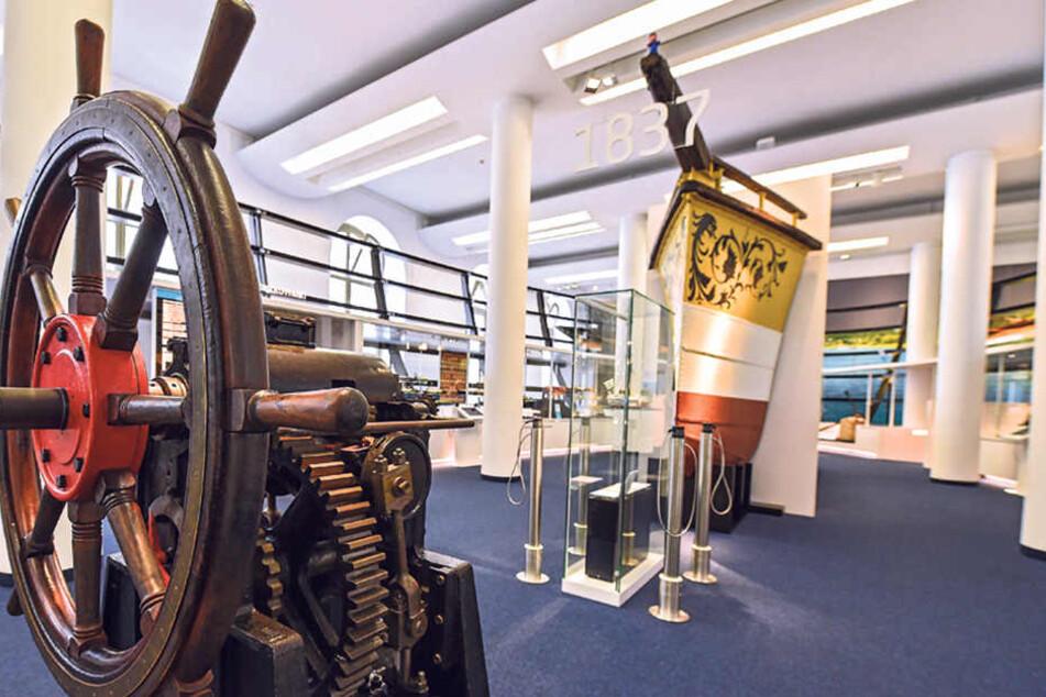 Im Verkehrsmuseum gibt's eine neue maritime Ausstellung.