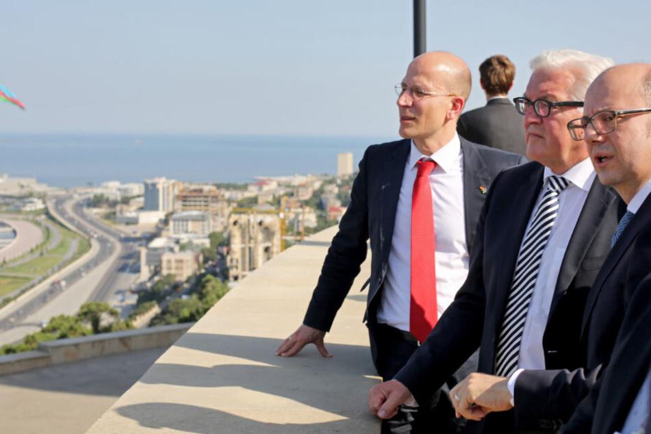 Als Beauftragter für Osteuropa besuchte der Dresdner unter Frank-Walter Steinmeier (64, SPD) auch Aserbaidschan.