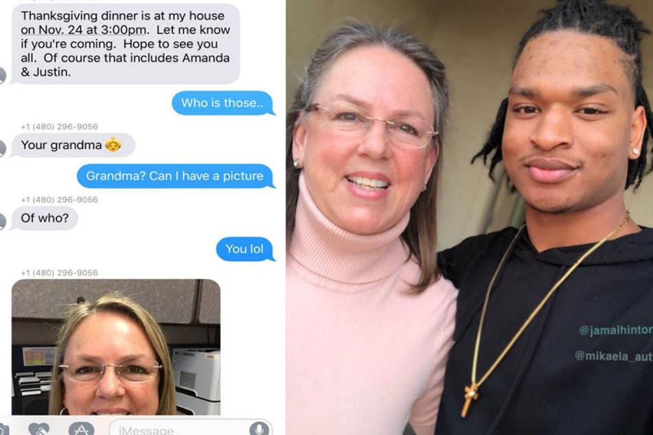 Alles fing an mit einer falschen SMS. Jetzt sind Wanda und Jamal gute Freunde.