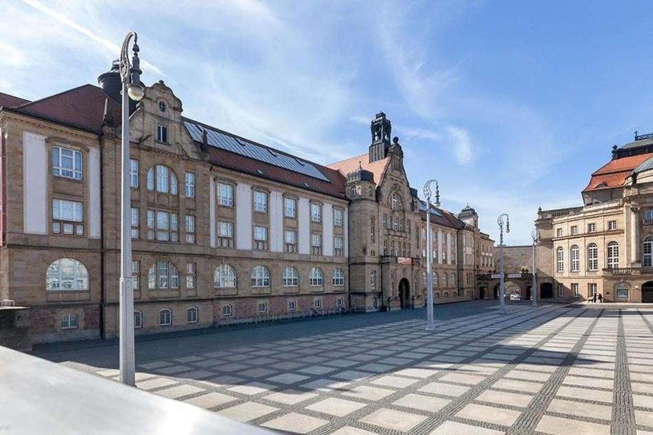 Hoher Besuch in den Chemnitzer Kunstsammlungen.