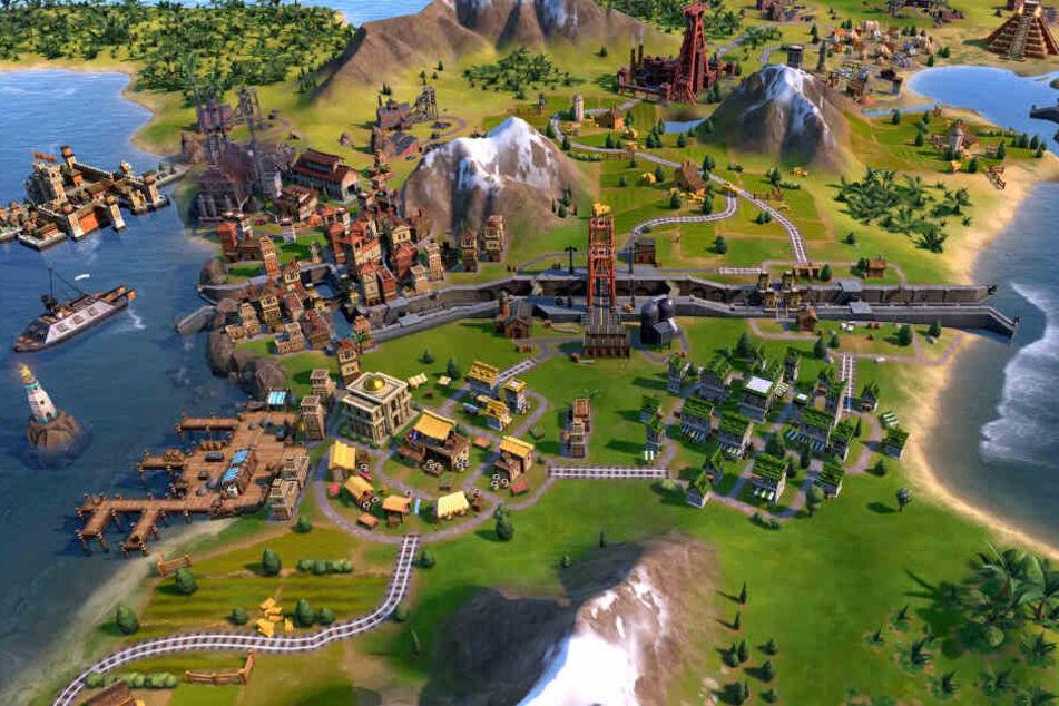 """Bei """"Civilization VI"""" kommt es auch darauf an, Eure Städte so sinnvoll wie möglich zu platzieren und das Maximum aus jedem Bauplatz herauszuholen."""