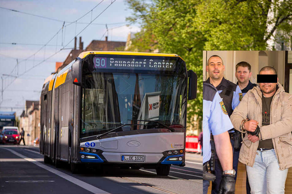 Wie krass! Stückelmörder transportiert Leichenteile in Leipziger Linienbus