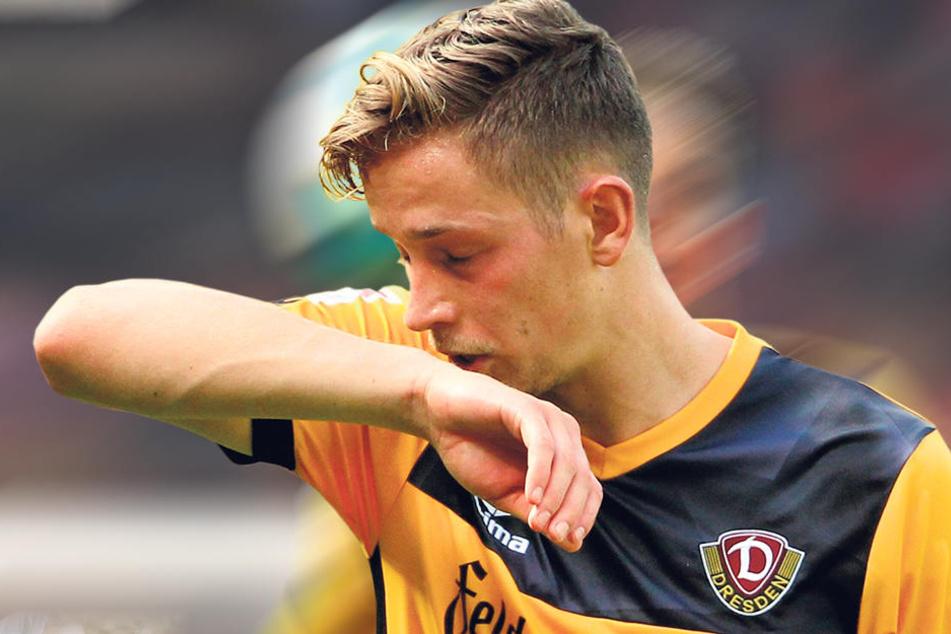 In Duisburg war Jannik Müller mit dem Spiel und sich selbst unzufrieden.