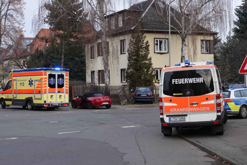 In Leipzig-Altlindenau ist es am Donnerstagmorgen zu einem Unfall gekommen.