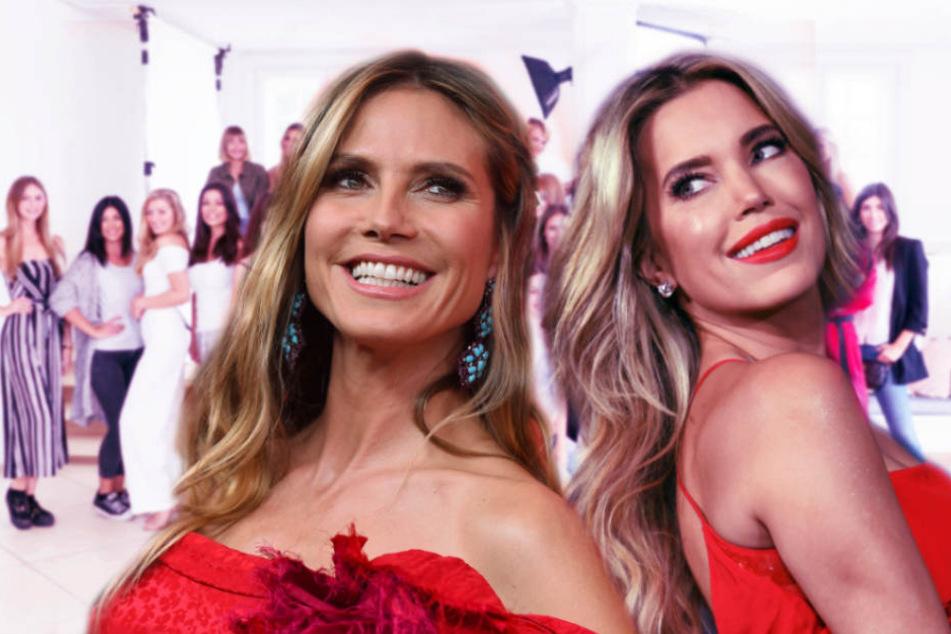 """Klum vs. Meis: Ist """"Sylvies Dessous Models"""" nur eine Kopie von """"GNTM""""?"""