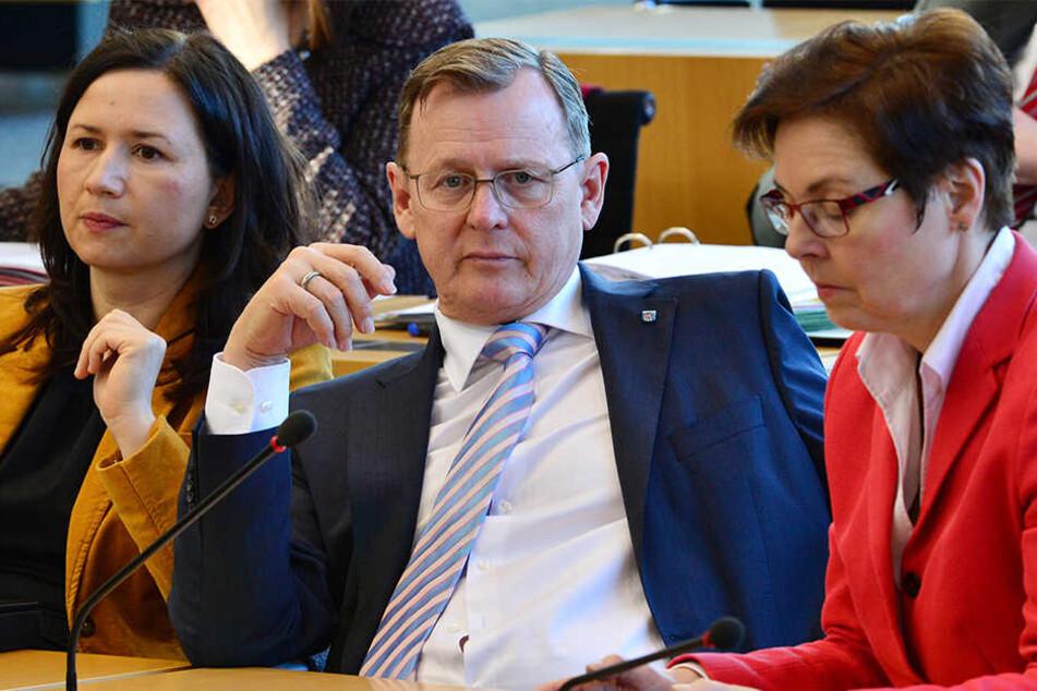 Ministerpräsident Bodo Ramelow will bei der Finanzpolitik lieber weiter sparen.