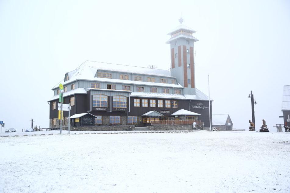 Orr nee! In Sachsen hat es schon wieder geschneit