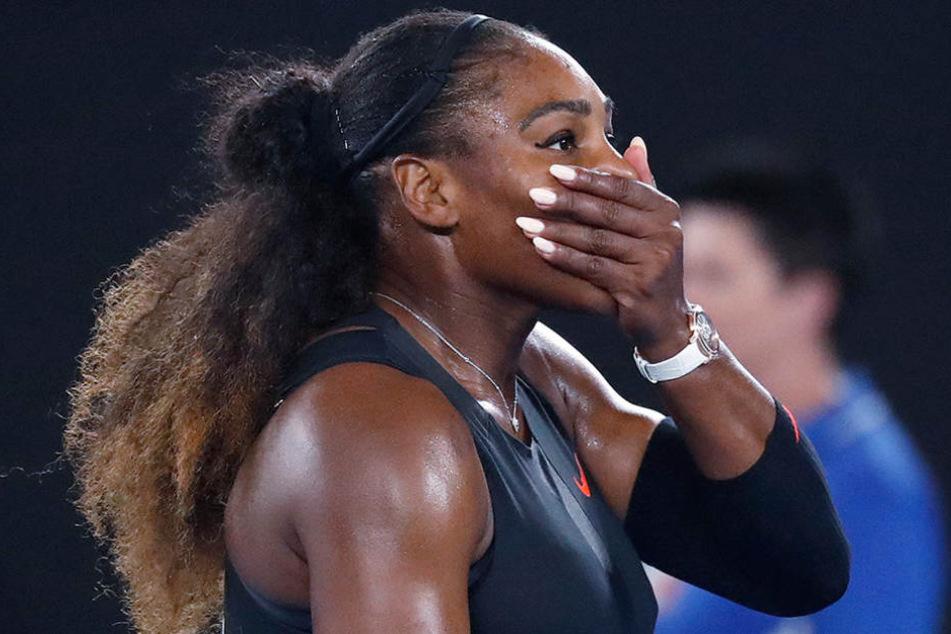 Serena Williams lässt den rassistischen und diskriminierenden Kommentar nicht auf sich sitzen.